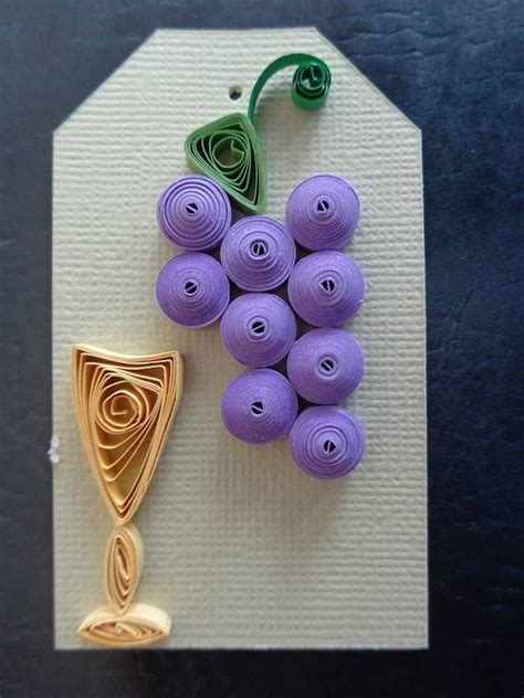 How To Make Paper Grapes - 162 best s paper quilling creations images on