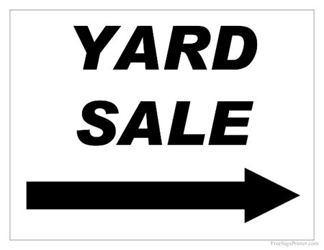 printable yard sale signs free printable moving sale sign just b cause