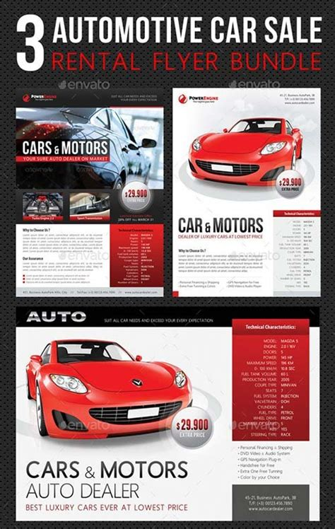 car flyer template doc 810539 25 customizable design car sale flyer