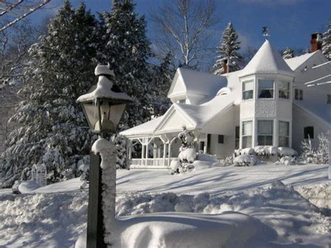 camden maine bed and breakfast winter wonderland at a little dream bed and breakfast
