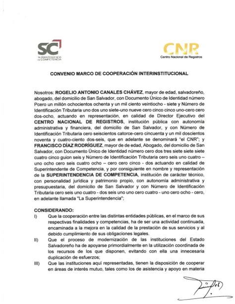 Convenio De Cooperacin Interinstitucional Entre | convenio marco de cooperaci 243 n interinstitucional entre el