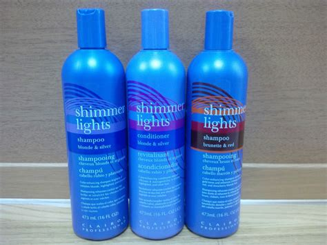 shimmer lights on red hair clairol professional shimmer lights shoo or conditioner