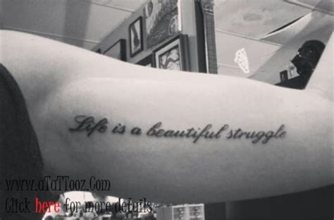 next tattoo heraclitus quot everything flows quot things i beauty quote tattoo design on bicep biceptattoos