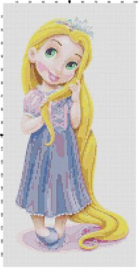 princesa rapunzel patron punto de cruz patrones punto de cruz crosstitch on pinterest punto de cruz punto cruz and