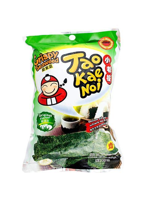 B26 Tao Kae Noi Crispy Seaweed 15g tao kae noi crispy seaweed original pck 15g klikindomaret