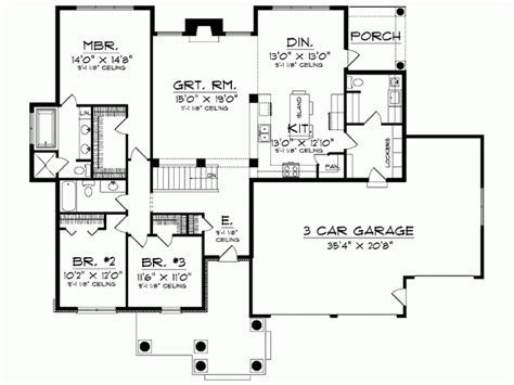 Eplans Ranch by Eplans Ranch House Plan Dignified Three Bedroom Home