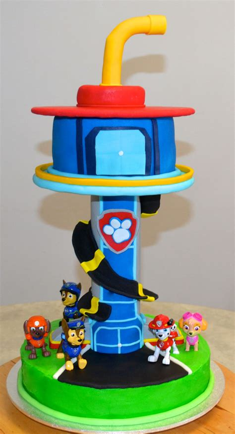 how to your to do paw paw patrol lookout cake www pixshark images galleries with a bite