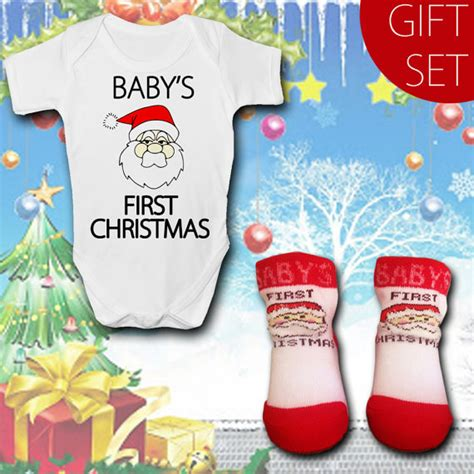 baby s first christmas baby gift set baby grow with by