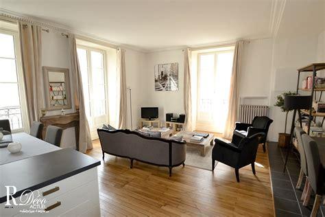 Deco Appartement Haussmannien by Appartement Haussmannien 224 Nantes Relooking D 201 Co Actuel
