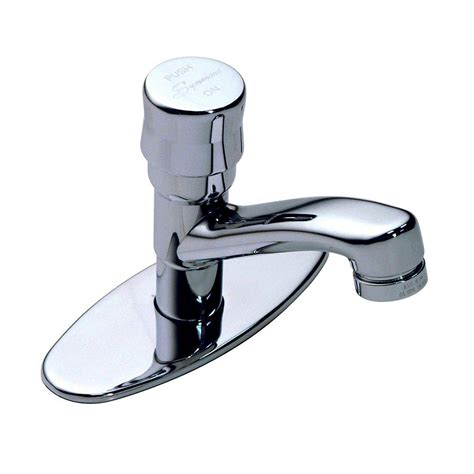 symmons metering single 1 handle bathroom faucet in