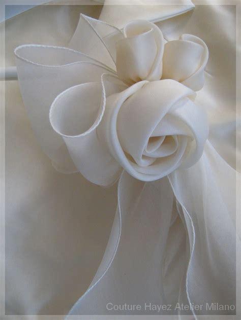 fiori di seta per abiti rosa dettagli tuo stile in organza flores