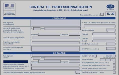 Cerfa Credit Formation Dirigeant contrat de travail professionnalisation mise en demeure 2018