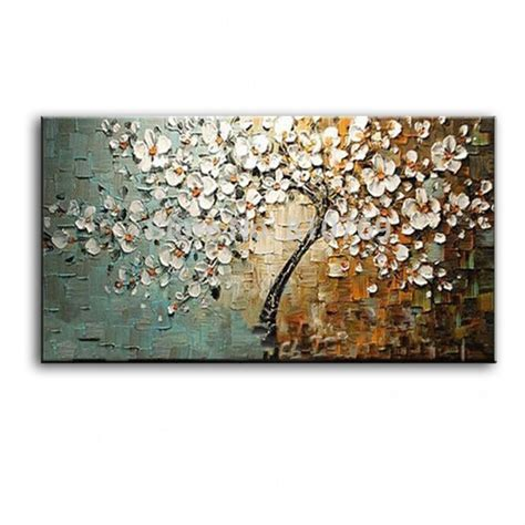 Handmade Paintings On Canvas - new handmade modern canvas on painting palette knife