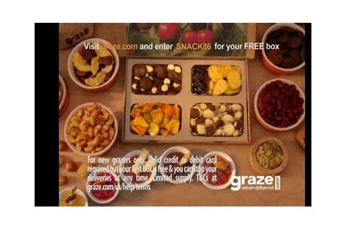 graze coupon commercial