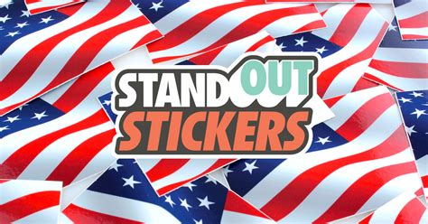 Standout Stickers