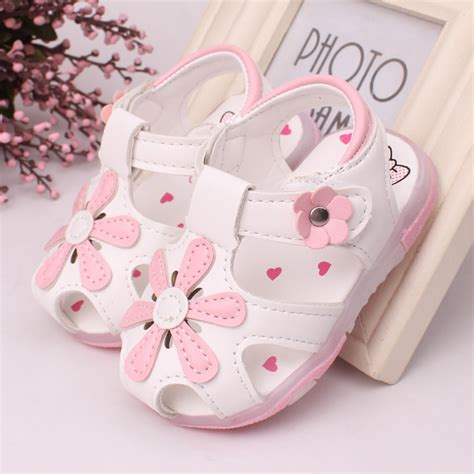 Best Quality Sandal Led Light Nyala Flower Pink aliexpress buy 2016 led light shoes 0 2 years baby sandals summer shoes