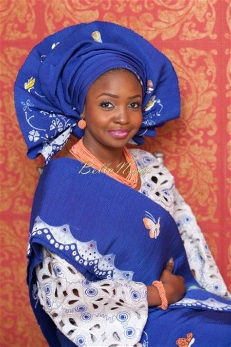 nigerian aso oke bellanaija bride solape photography by libran eye fabrics