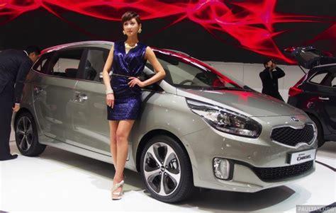 Seoul Kia Kia Carens Launched In South Korea At Seoul 2013