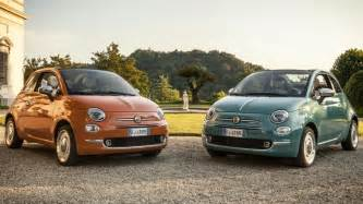 Fiat 500 Edition Spec Fiat 500 Anniversary Celebrated With Anniversario Edition