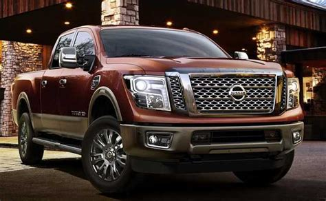 2016 Toyota Tundra Diesel Towing Capacity 2017 Nissan Titan Diesel Mpg And Fuel Economy Rating