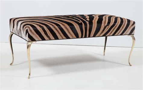 zebra bench zebra bench ottoman 28 images cowhide zebra print bed end ottoman zebra ottomans
