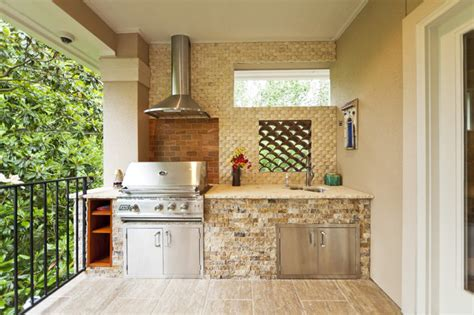 Indoor Outdoor Kitchen Designs by Piney Point Village Remodel Modern Patio Houston