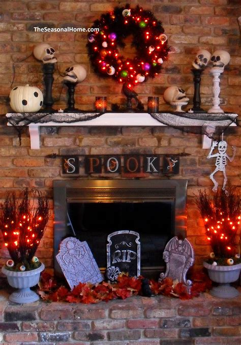 a thrifty decorating theme for 171 the seasonal home