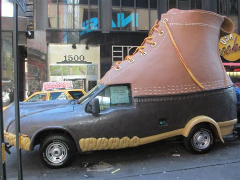 ll bean home decor l l bean bootmobile hits new york to celebrate 100 years