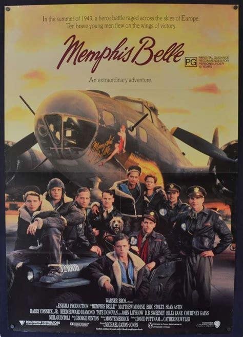 matthew modine memphis belle all about movies memphis belle 1990 one sheet movie