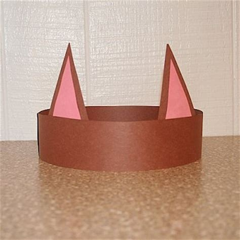 How To Make Cat Ears Headband Paper - 30 cat in the hat crafts and treats about family crafts