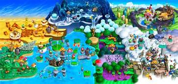 Super Mario World Maps by Super Mario World Map Secrets World Map New Super Mario