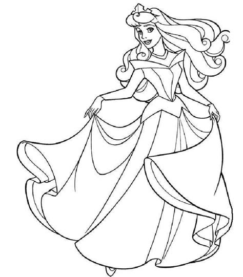 sleeping beauty coloring coloring pages