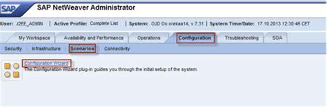 sap nwa tutorial tutorial sap portal configuration wizard