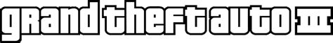 Grand Theft Auto 3 Logo by Grand Theft Auto Iii Rockstar Mag