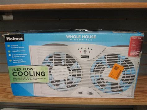 holmes whole house window fan holmes whole house window fan tes retail store overstock returns sump pumps