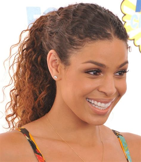 curly hairstyles pulled back 20 easy black ponytail hairstyles