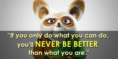 If I Want An Mba Different Than My Bachelors by 10 Changing Kung Fu Panda Inspirational Quotes You