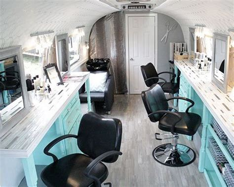 salon mobile airstream airstream caravans and vintage airstream on