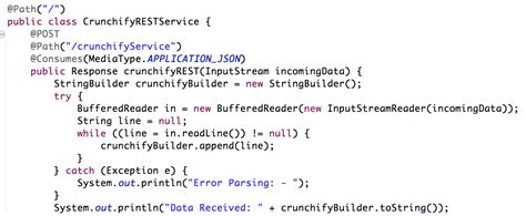 tutorial java json create very simple jersey rest service and send json data