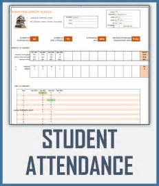 weekly attendance register template student attendance register excel template
