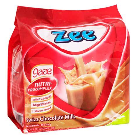 Zee Swizz Chocolate Milk 10x40g this