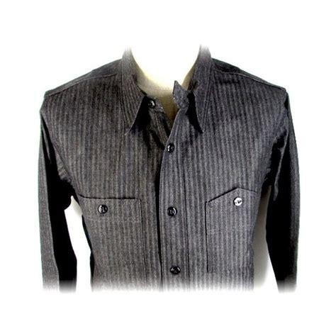The Real Mccoys Hbt Shirt リアルマッコイズ real mccoy s joe mccoy 8hu grey hbt shirt quot lot