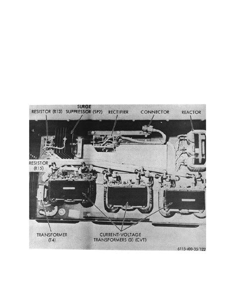 Figure 122 Exciter With Voltage Regulator Removed