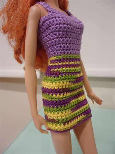 pattern barbie clothes barbie simple sheath dress free crochet pattern