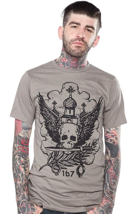 russian tattoo history 169 best tattoed men t shirts images on pinterest