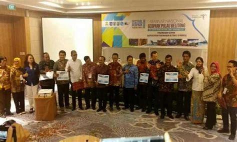 Gelar Mba Di Indonesia by Yes Lima Destinasi Sabet Gelar Taman Nasional Geopark Di