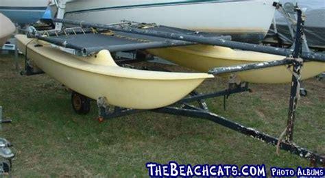 catamaran ventures test venture 15 banana hull catamaran sailboats at