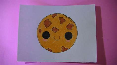 imagenes kawaii de comida para dibujar como dibujar pintar una galleta kawaii semana comida