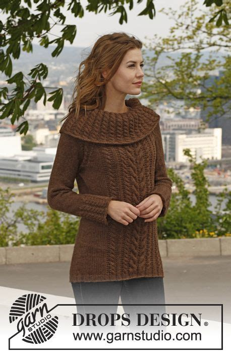drops knitting patterns knitted drops jumper with cables raglan dec and large