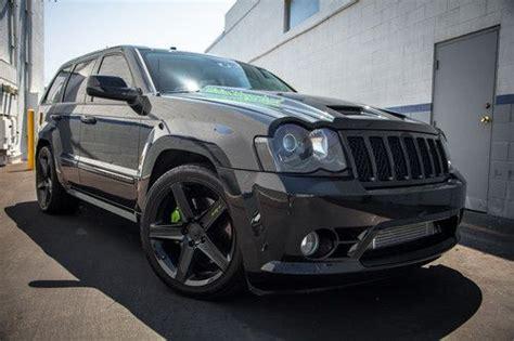 turbo jeep srt8 purchase used 2009 turbo jeep srt8 9 second beast